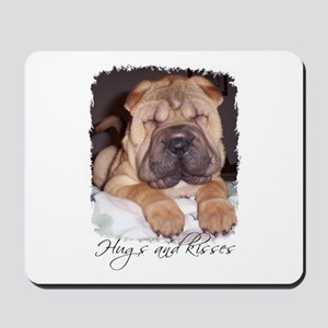 HUGS AND KISSES Mousepad